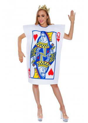 Ladies Alice Queen Of Hearts lh312