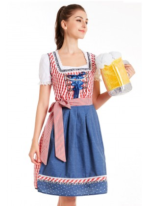 Ladies German Vintage costume lh326r