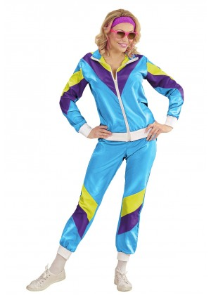 Womens Shellsuits 80s tracksuit front