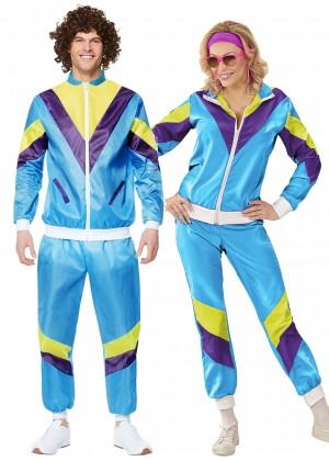 Blue 80s Shellsuits Tracksuit