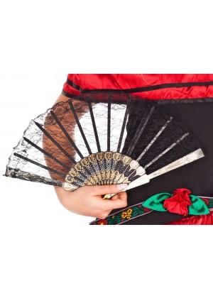 Spanish Senorita Flamenco Dancing Fan Accessories