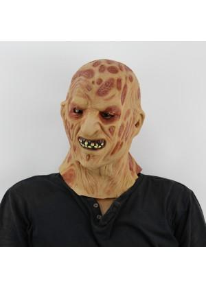 FREDDY Halloween Prank Horror Scary Movie Rubber Latex Twisty Clown Overhead Mask