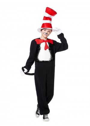Kids Dr Seuss Cat In The Hat Costume PP1003