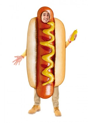 Food Hotdog Costume
