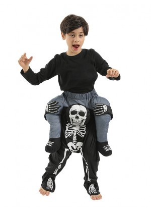 Child Skeleton Ride On Me Costume lp1028