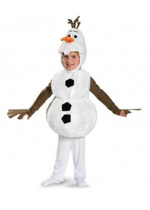 Toddler Child Olaf Snowman Costume lp1046