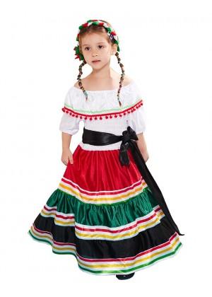 Girls Mexico Spanish Costume lp1067