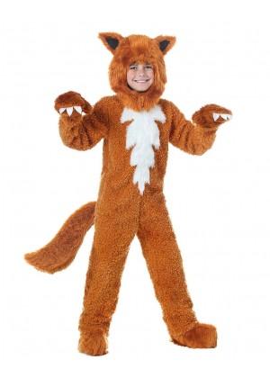 Kids Fox Animal Halloween Cosplay Costume