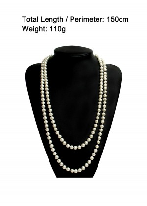 Deluxe 20s Flapper Costume Necklace