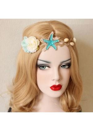 Ladies Mermaid Crown Seashell Headpiece lx0212