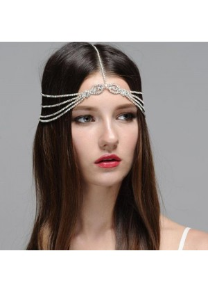Ladies bohemian wedding hair chain Jewelry lx0245