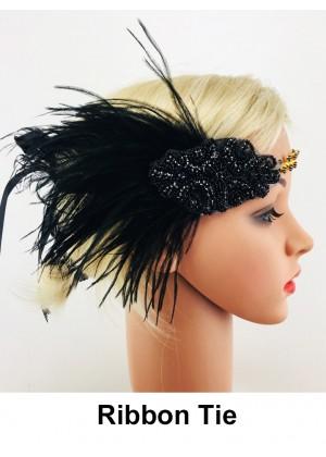 Ladies 1920s Vintage Flapper Headband lx0251