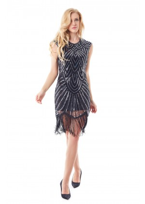 1920s Great Gatsby cocktail dresses