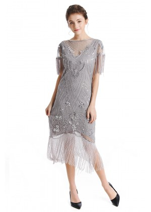 1920s Flapper Fancy Dress Costume