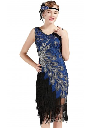1920s Flapper Fancy Dress Costume lx1051be