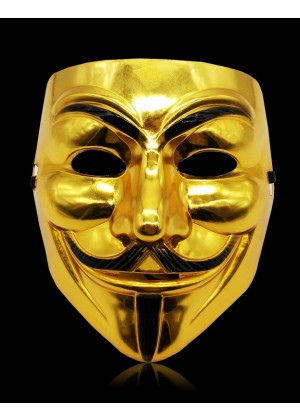 gold Vendetta Mask lx2025-3