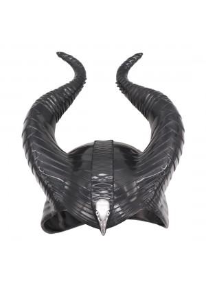 Ladies Maleficent Black headpiece lx2026-1