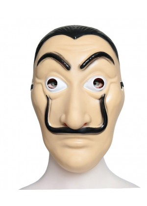 Salvador Dali The House Paper Papel Money Heist Mask