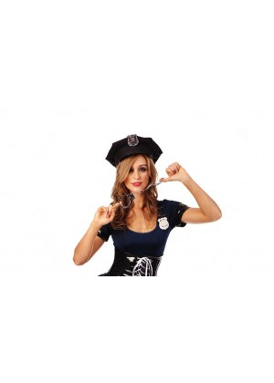 Policeman Police Officer Cop Uniform Halloween Costume Accessory