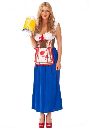 GERMAN HEIDI DIRNDL COSTUME