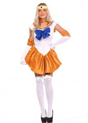 Sailor Moon Venus Costume lz8675o