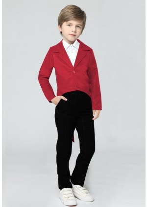 Red Kids Tailcoat Magician
