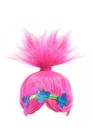 Pink Wacky Troll Wigs tt3111