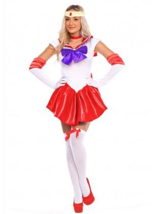 Ladies Sailor Moon Mars Costume