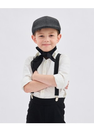 Kids Victorian boy colonial boy costume cap hat