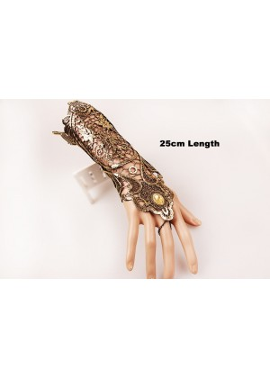 Glove 70s 80s 1920s Women's Lace Party Dance 25cm Length Costume