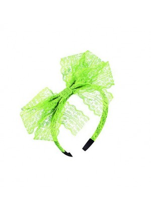 Nylon Green 80s Party Headband