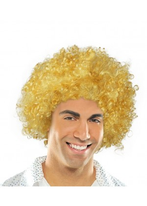 Yellow Funky Afro Wig