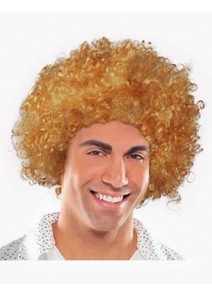 Dark Brown Funky Afro Wig