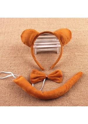 A set of bear costume kids accessory tt1081-1