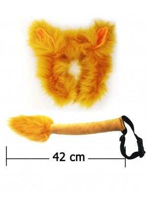 Lion Headband Tail Set