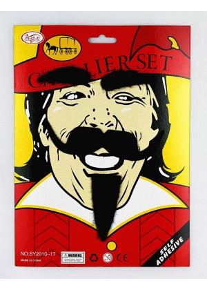 Musketeer Beard & Moustache Set