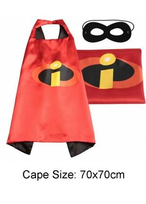 Kids The Incredibles Cape and Mask Superhero Set tt1136