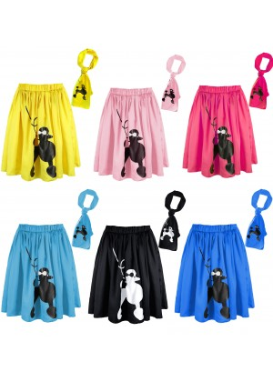 1950s Grease Poodle Skirt tt1139