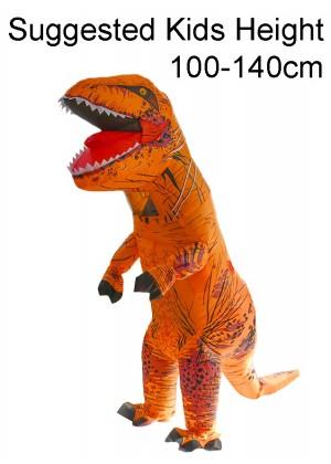 Child Orange T-REX Costume
