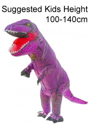 Child Purple T-REX Costume