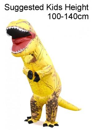 Child Yellow T-REX Costume