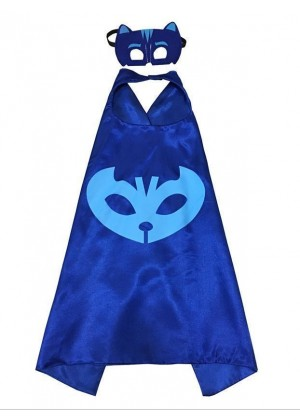 PJ masks Catboy Double Layer Cape & Mask Costume Book Week