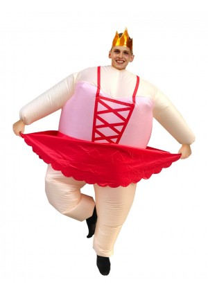 ballet dancer inflatable costume 2015
