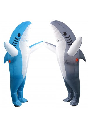 Adult Shark carry me inflatable costume tt2039