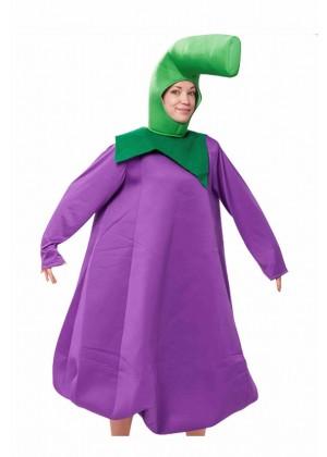 Purple Eggplant Mascot Costume tt2041
