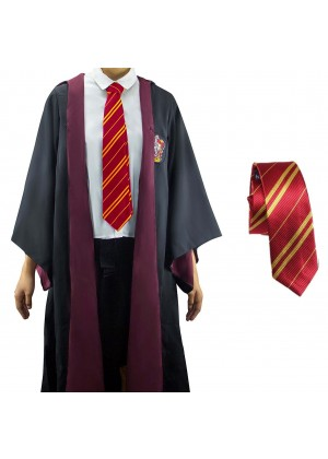 Gryffindor Mens Ladies Harry Potter Adult Robe Tie Costume Cosplay