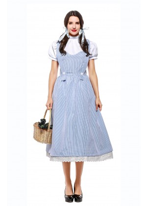 Ladies Wizard of OZ Dorothy Fancy Dress Storybook Hens Party Costume
