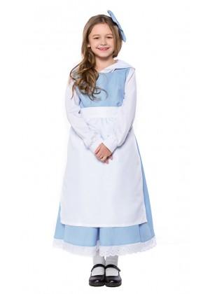 Kids Olden Days Costume Girls