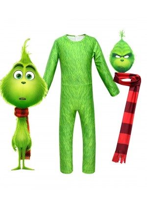 Kids The Grinch Jumpsuit