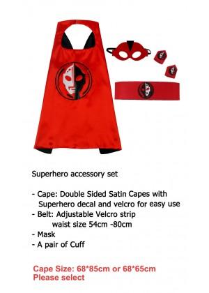Ultraman Cape & Mask Costume set Superhero